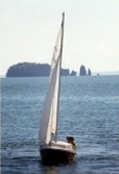 Sailing on the Bay of Fundy